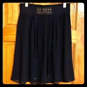 Black Skirt - Skirt goes to the knees